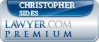 Christopher B. Sides  Lawyer Badge
