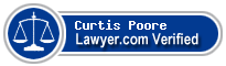 Curtis O. Poore  Lawyer Badge