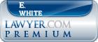 E. Dean White  Lawyer Badge