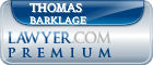 Thomas John Barklage  Lawyer Badge