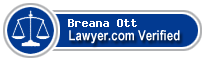 Breana Ott  Lawyer Badge