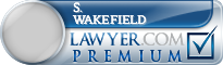S. Brent Wakefield  Lawyer Badge