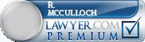R. Ken Mcculloch  Lawyer Badge