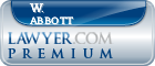 W. Kirk Abbott  Lawyer Badge