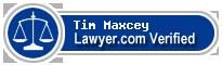 Tim Maxcey  Lawyer Badge