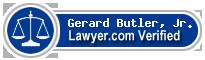 Gerard A. Butler, Jr.  Lawyer Badge