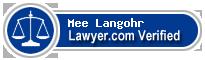 Mee Soon Langohr  Lawyer Badge