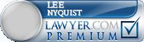 Lee C. Nyquist  Lawyer Badge