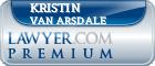 Kristin L. Van Arsdale  Lawyer Badge