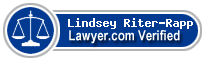 Lindsey Riter-Rapp  Lawyer Badge
