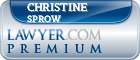 Christine M. Sprow  Lawyer Badge