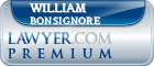 William Bonsignore  Lawyer Badge