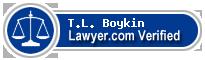 T.L. Boykin  Lawyer Badge