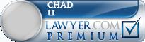 Chad Li  Lawyer Badge