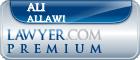 Ali Allawi  Lawyer Badge