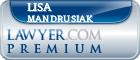 Lisa M. Mandrusiak  Lawyer Badge