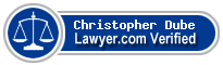 Christopher M. Dube  Lawyer Badge