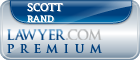 Scott C. Rand  Lawyer Badge