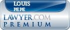 Louis R. Pepe  Lawyer Badge