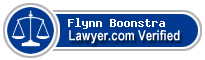 Flynn Boonstra  Lawyer Badge
