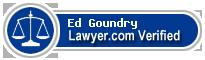 Ed Goundry  Lawyer Badge