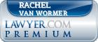 Rachel Hersh Van Wormer  Lawyer Badge
