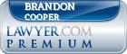 Brandon Alan Cooper  Lawyer Badge
