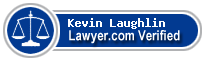 Kevin Laughlin  Lawyer Badge
