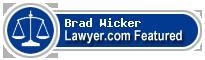 Brad W. Wicker  Lawyer Badge