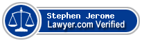 Stephen L. Jerome  Lawyer Badge