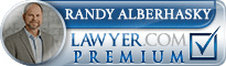 Randy Charles Alberhasky  Lawyer Badge