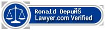 Ronald S. Depué  Lawyer Badge