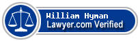 William Whitfield Hyman  Lawyer Badge
