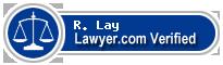 R. Thomas Lay  Lawyer Badge