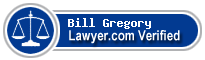 Bill Gregory  Lawyer Badge