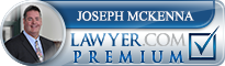Joseph P. Mckenna Jr.  Lawyer Badge
