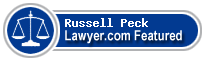 Russell F. Peck  Lawyer Badge