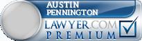 Austin F. Pennington  Lawyer Badge