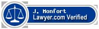 J. Taylor Monfort  Lawyer Badge