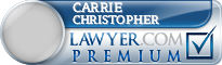 Carrie L. Hellwig Christopher  Lawyer Badge