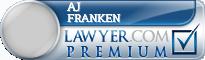 Aj Franken  Lawyer Badge