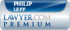 Philip A. Leff  Lawyer Badge