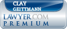 Clay D. Geittmann  Lawyer Badge