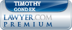 Timothy M. Gondek  Lawyer Badge