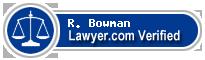 R. Boatner Bowman  Lawyer Badge