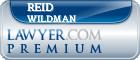 Reid Wildman  Lawyer Badge