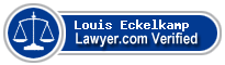 Louis B. Eckelkamp  Lawyer Badge