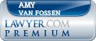 Amy M. P. Van Fossen  Lawyer Badge