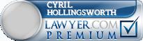 Cyril Hollingsworth  Lawyer Badge