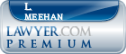 L. Jeffrey Meehan  Lawyer Badge